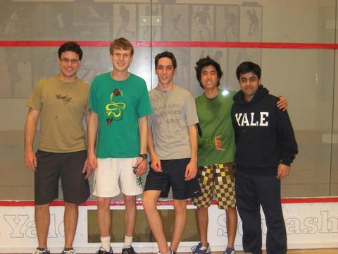 Men's Squash: Jonathan Edwards